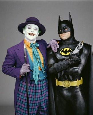 Jag till vänster, syrran till höger. Bild från http://batman.wikia.com/wiki/The_Joker_%28Jack_Nicholson%29