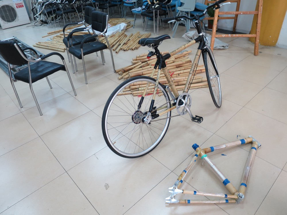 Bamboo Bicycle Build #1 (4/6)